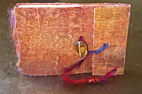 Charlotte Konrad, handmade journal.