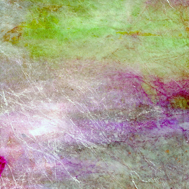 Edith Banman, painted Tyvek