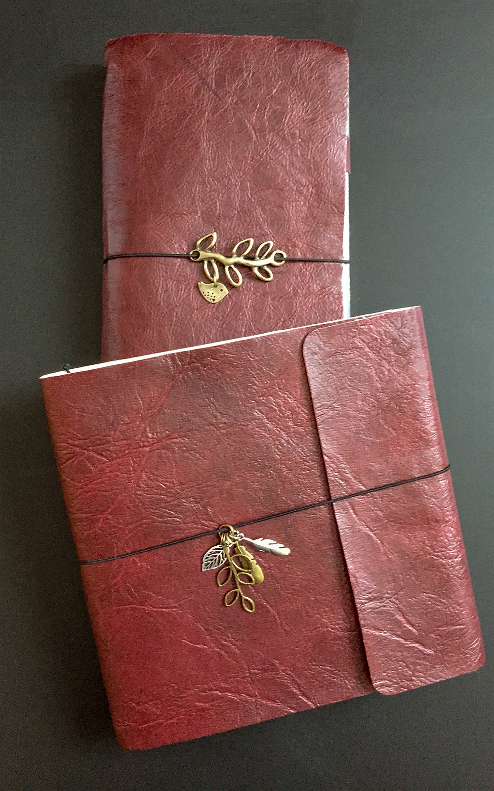 Handmade book with removable pages, Lauren Campbell
