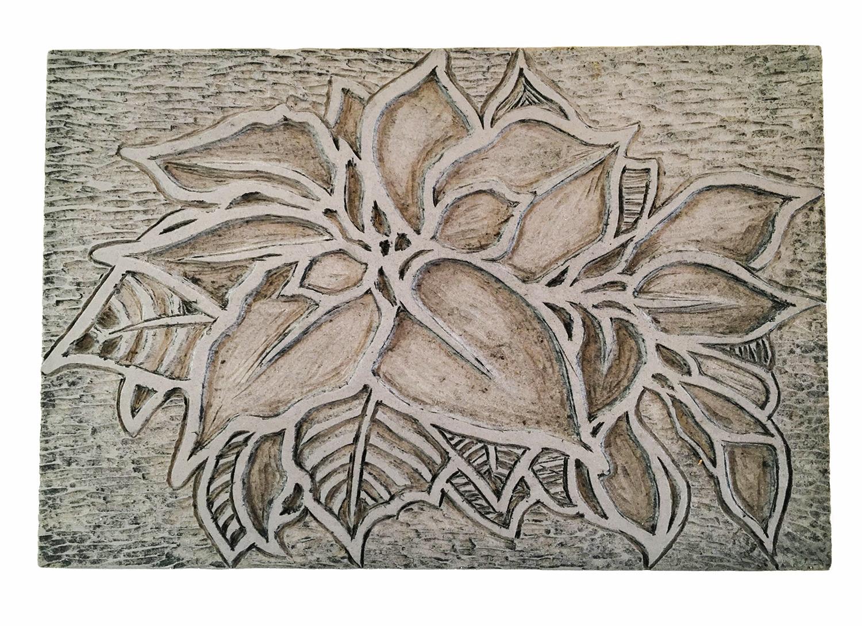 printmaking block, Ann Rivera