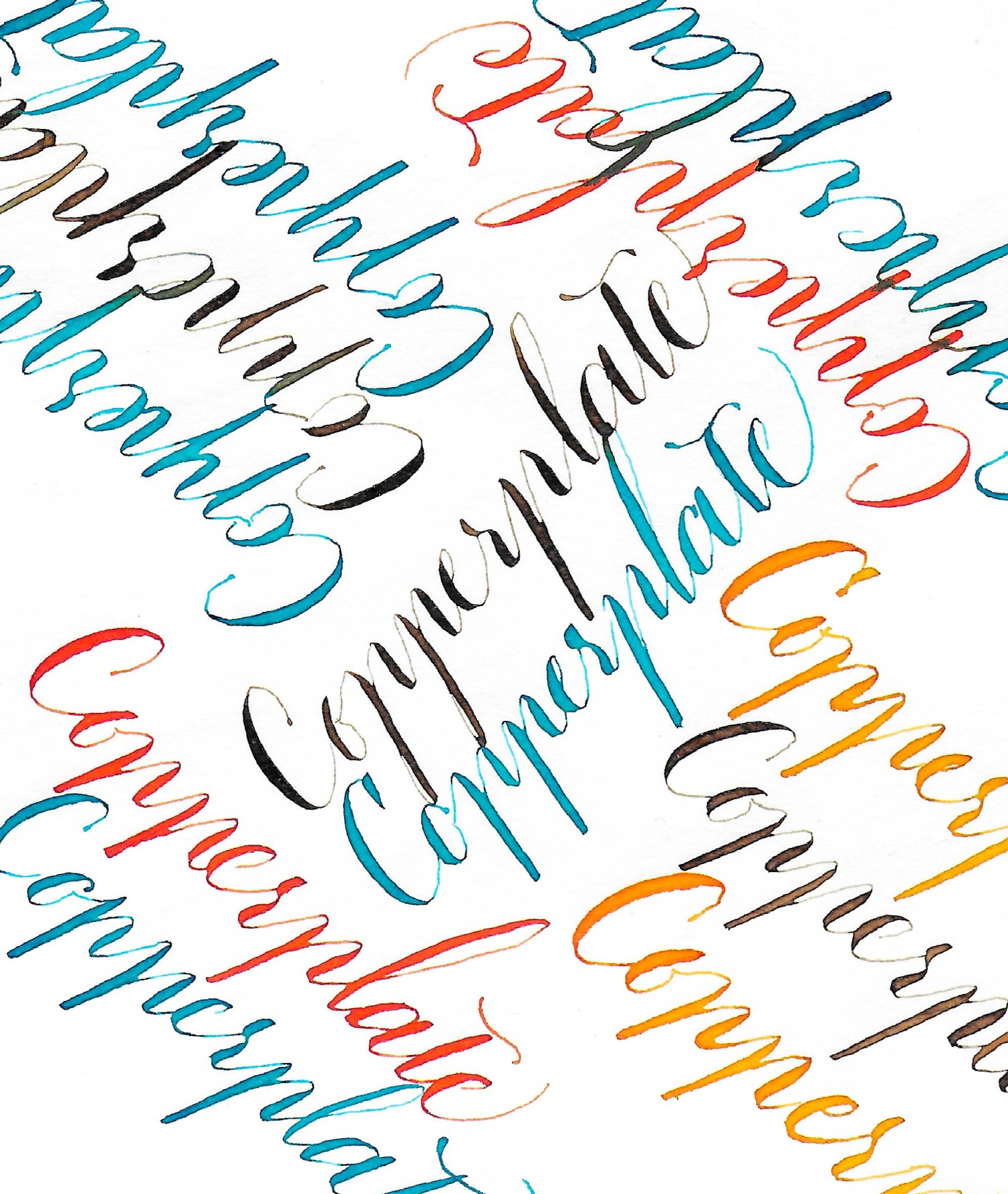 Copperplate, Kathie McIlvride