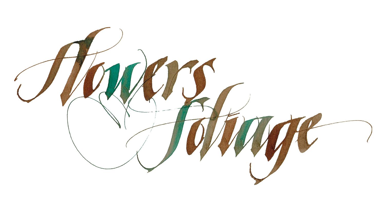 Kathie McIlvride, Italic lettering
